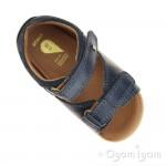 Bobux Driftwood Boys Navy Open-Toe Sandal