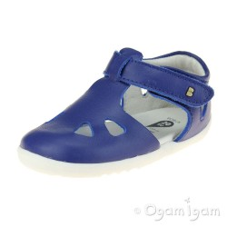 Bobux Zap Boys Blueberry Blue Close-Toe Sandal
