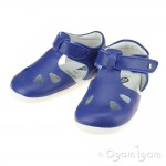Bobux Zap Boys Blueberry Blue Close-Toe Sandal