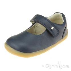 Bobux Delight Girls Navy Mary Jane Shoe