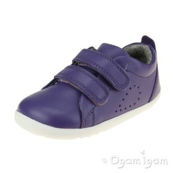 Bobux Grass Court Girls Violet Purple Shoe