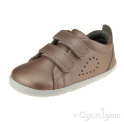 Bobux Grass Court Girls Rose Gold Shoe