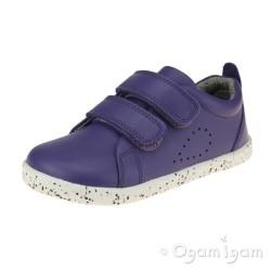Bobux Grass Court Girls Violet Purple Shoe