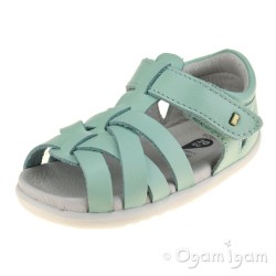 Bobux Tropicana Boys Girls Mint Green Sandal