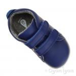 Bobux Grass Court Boys Girls Blueberry Blue Shoe