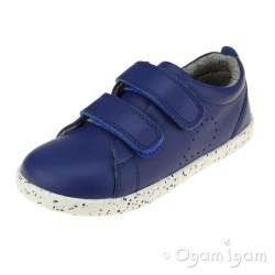 Bobux Grass Court Kids Blueberry Blue Shoe