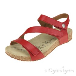 Josef Seibel Tonga 25 Womens Red Open-Toe Sandal