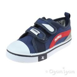 Primigi 5445711 Boys Navy Canvas Shoe