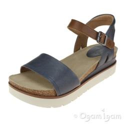 Josef Seibel Clea 01 Womens Jeans Open-Toe Sandal