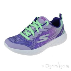Skechers Go Run Bright Sprints Girls Lavendar-Multi Trainer