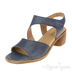 Josef Seibel Juna 02 Womens Dark Blue Sandal