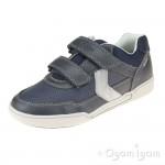 Geox Poseido Boys Navy-Grey Shoe