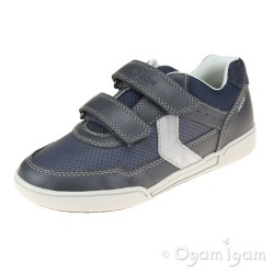 Geox Poseido Boys Navy-Grey Shoe