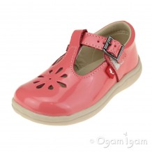 Chipmunks Trixie Girls Coral Red Shoe