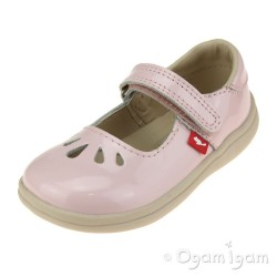 Chipmunks Elsa Girls Pink Shoe