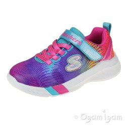 Skechers Dreamy Lites Sunny Sprints Girls Multi Trainer