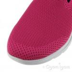Skechers Go Walk Prized Womens Pink-Black Shoe