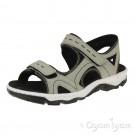 Rieker 6886661 Womens Champignon Grey Sandal