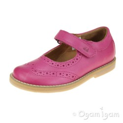 Froddo G3140100 Girls Fuxia Mary Jane Shoe