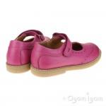 Froddo G3140100 Girls Fuxia Mary Jane Shoe