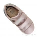 Geox DJRock Girls Light Rose Pink-Silver Shoe