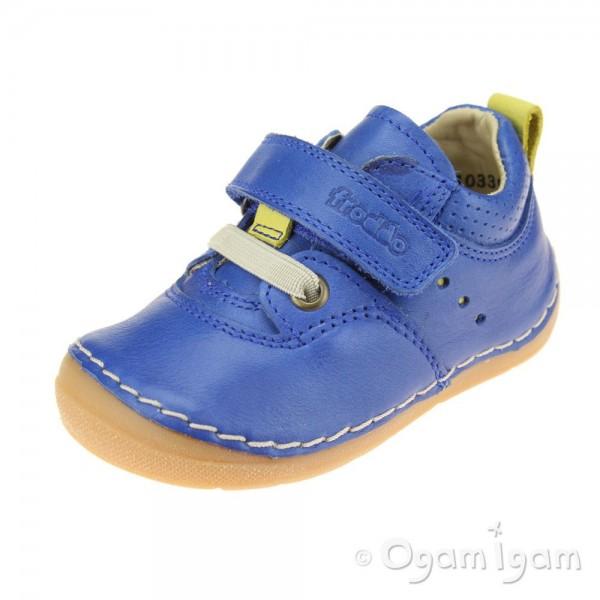 Froddo G2130189 Boys Blue Electric Shoe
