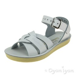 Salt-Water Swimmer Girls White Sandal