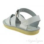 Salt-Water Swimmer Girls White Sandal