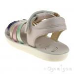 Shoo Pom Goa Spart Veg Girls Nude-Multi Pastel Sandal