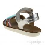 Shoo Pom Goa Multi Girls Silver-Multi Metal Sandal
