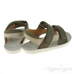 Shoo Pom Goa Boy Scratch Boys Khaki-Sand Sandal