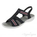Rieker 6089414 Womens Pazifik Open Toe Sandal