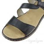 Rieker 659C715 Womens Mare Open Toe Sandal