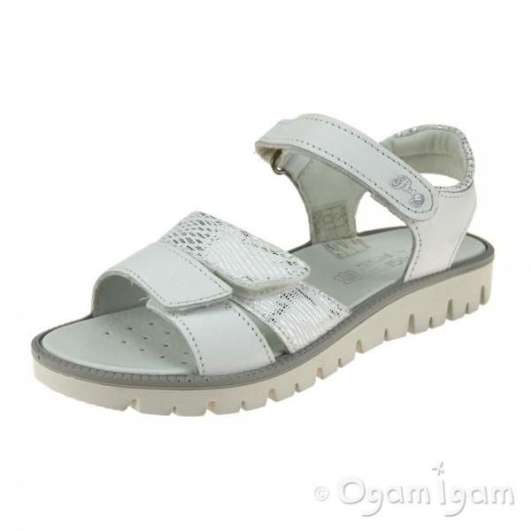 Primigi 5386633 Girls Bianco White Sandal