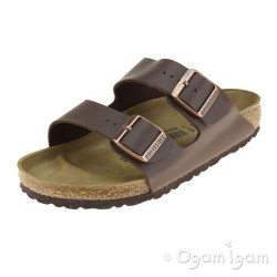 Birkenstock Arizona Womens Dark Brown Sandal