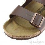 Birkenstock Arizona Womens Dark Brown Sandal