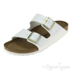 Birkenstock Arizona Womens Patent White Sandal