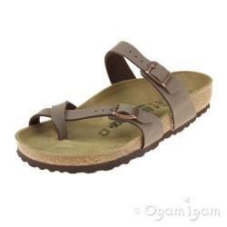 Birkenstock Mayari Womens Mocha Brown Sandal