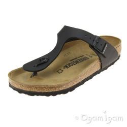 Birkenstock Gizeh Black Womens Black Sandal