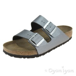 Birkenstock Arizona Metallic Anthracite Womens Sandal