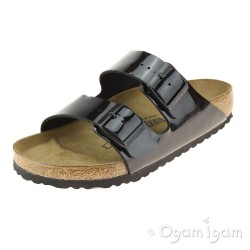 Birkenstock Arizona Womens Black Patent Sandal