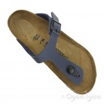 Birkenstock Gizeh Kids Navy Boys Girls Navy Toe-post Sandal
