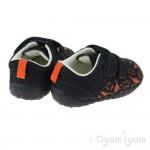 Start-rite Roar Infant Boys Navy Dinosaur Shoe