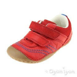 Start-rite Baby Leo Infant Boys Red Shoe