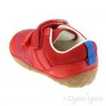 Start-rite Baby Leo Infant Boys Red Shoe
