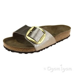 Birkenstock Madrid Big Buckle Womens Graceful Taupe Sandal