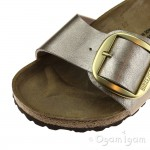 Birkenstock Madrid Big Buckle Womens Graceful Taupe Sandal