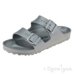 Birkenstock Arizona Eva Silver Womens Silver Water-friendly Sandal