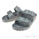 Birkenstock Arizona Eva Silver Womens Silver Water-friendly Sandal