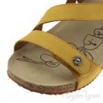 Josef Seibel Tonga 53 Womens Saffron Sandal